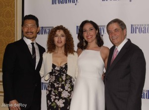 Danniel Dae Kim, Bernadette Peters, Andrea Burns, Michael Presser, Executive Director