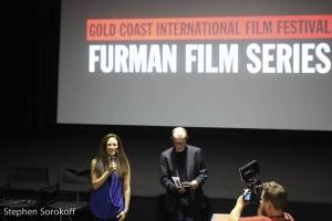 Caroline Sorokoff, Gold Coast Film Director & Brian Gordon, Senior Programmer