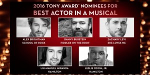 Tony Awards, Lin Manuel Miranda