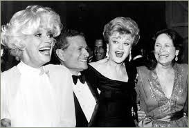 Carol Channing, Jerry Herman, Angela Lansbury, Colleen Dewhurst