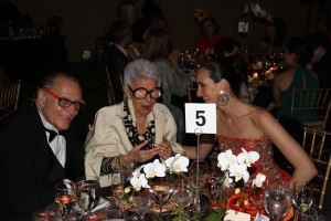 Errol Rappaport, Iris Apfel, Malu Edwards at The 12th Annual Women Together Gala