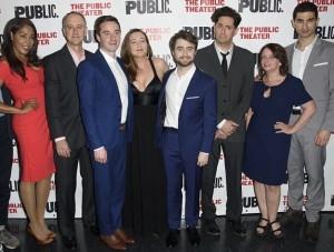Michael Countryman, Daniel Radcliffe, Rachel Dratch