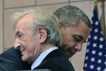 Elie Wiesel, President Obama