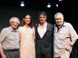 Sheldon Harnick, Robert Cuccioli, Glory Crampton, Sherman Yellen