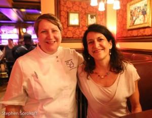 Lynn Bound, executive chef Feinstein's/54 Below & Amy Scherber