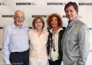 Bernard Wolfson, Julianne Boyd, Jessie Wolfson Tristan WIlson