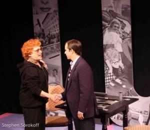 Sandra Dickinson, (Lucy) & Stefan Menaul, (Lee Tannen)