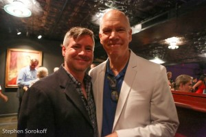 Tony Speciale, artistic director Abingdon Theatre Co. & David Zippel