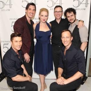 Andrew Slane, Will Nunziata, director, Molly Pope, Brian Nash, music director, Sidney Erik Wright, choreographer, Justin Henry