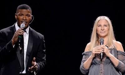 Barbra Streisand, Jamie Foxx