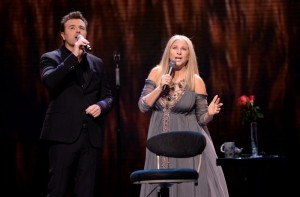Barbra Streisand and Seth Macfarlane