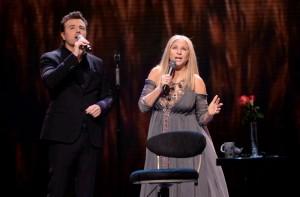 Barbra Streisand and Seth Macfarlane