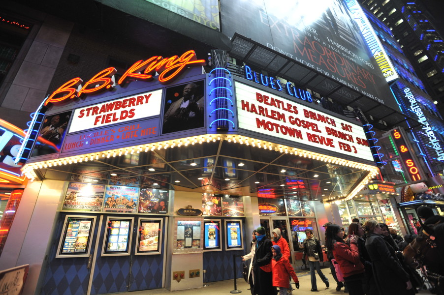 Times Square Loses Yet Another Venue as B.B. King Blues Club u0026 Grill Closes Their Doors & Times Square Loses Yet Another Venue as B.B. King Blues Club u0026 Grill ...