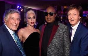 Tony Bennett, Lady Gaga, Stevie Wonder, Paul McCarthy