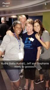 Covent House, Audra McDonald, Stephanie J Block