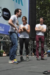Rob McClure, Leslie Kritzer, Josh Grisetti
