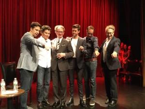 Lin Manuel-Miranda, Grease: Live, Aaron Tveit