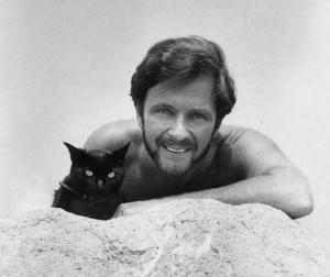 James Kirkwood and Cat