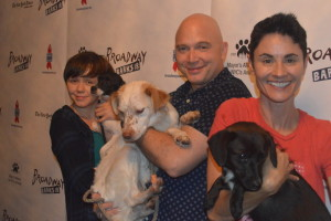 Photo Coverage: It's Puppy Love- Go Inside 18th Annual Broadway Barks! Emily Skeggs, Michael Cerveris, Beth Malone, Gabriella Pizzolo