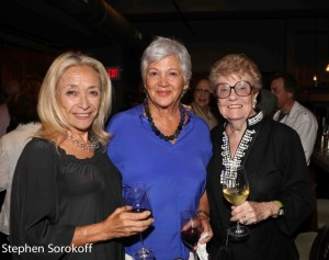 Eda Sorokoff, Minkie Quinson, Board Chair Barrington Stage Co