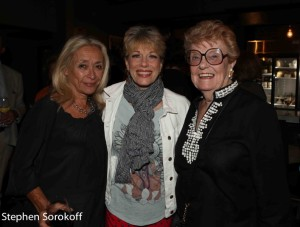 Eda Sorokoff, Marin Mazzie, June Freemazon, board member The New York Pops