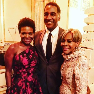 LaChanze, Norm Lewis, Cicely Tyson