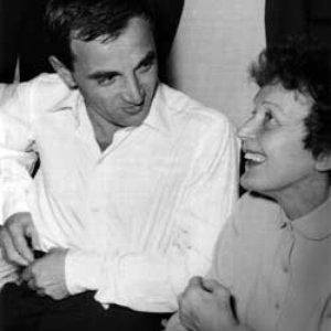 Charles Aznavour,Edith Piaf