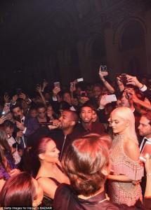 Kylie Jenner, Kris Kardashian, Kanye West