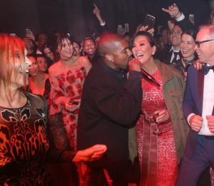 Kendall Jenner, Kris Kardashian, Kanye West