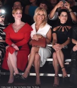 Christina Hendricks, Pamela Anderson, Neve Campbell