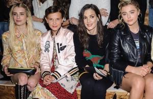 Emma Roberts, Millie Bobby Brown, Winona Ryder, Chloe Grace Moretz