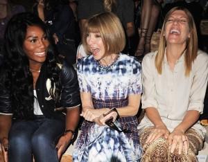 Serena Williams, Anna Winter, Virgina Smith
