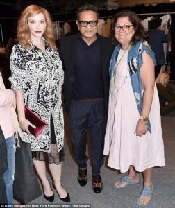 Christina Hendricks, Naeem Khan, Fern Mallis