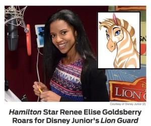 The Lion Guard, Renee Elise Goldsberry