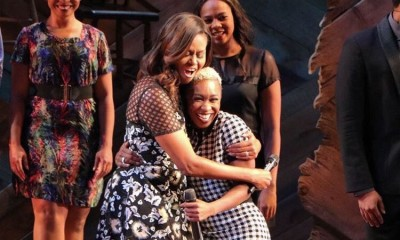 Michelle Obama, Cynthia Erivo