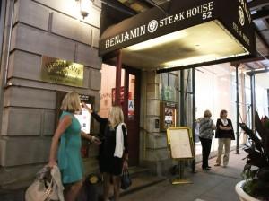 Benjamin Steak House Maria von Nicolai & Eda Sorokoff