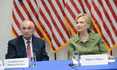 Hillary Clinton, Bill Bratton