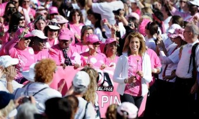 Hola Kotb, race for the cure