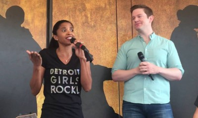 Renee Elise Goldsberry, Rory O'Malley, Hamilton, Ham4Ham