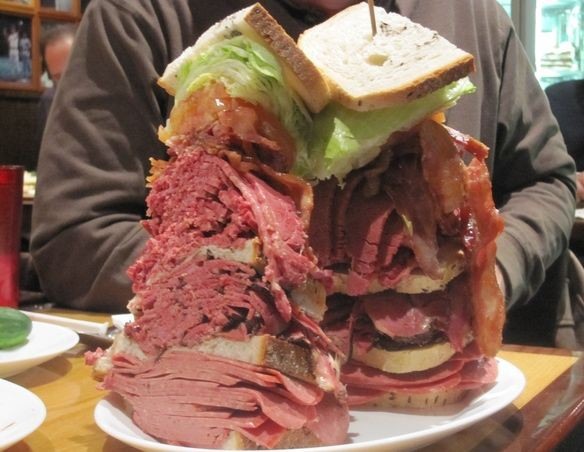 Those Sky High Pastrami Sandwiches Will Disappear As