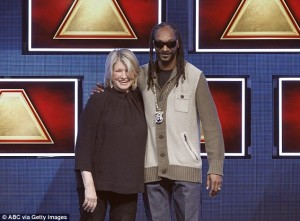Snoop Dogg,Martha Stewart