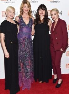 Kristen Stewart, Michelle Williams, Laura Dern