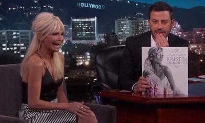 Kristin Chenoweth, Jimmy Kimmel