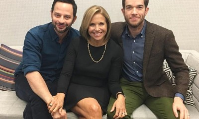 Nick Kroll,John Mulaney, Katie Couric