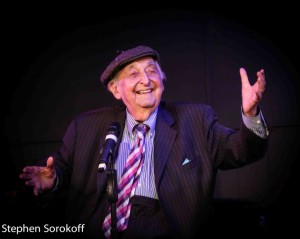 Fyvush FInkel performing at his last engagement at Barrington Stage Co.