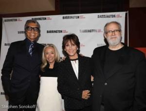 Tommy Tune, Honorary Chair, Eda Sorokoff, Chair, Michele Lee, William Finn