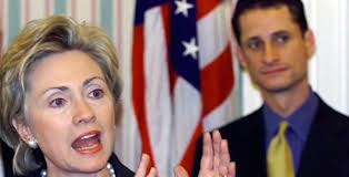 Hillary Clinton, Anthony Weiner