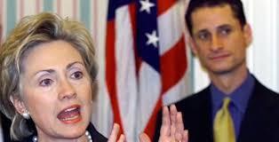 Hillary Clinton, Anthony Weiner