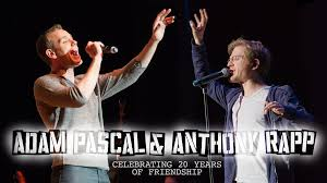 Anthony Rapp, Adam Pascal