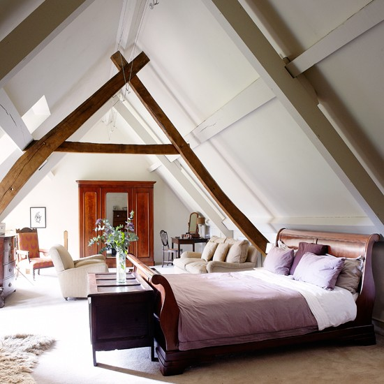 loft conversion bedroom decorating ideas - Design the Perfect Loft Bedroom for a Good Night's Sleep